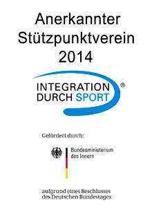 Anerkannter Stützpunktverein 2014